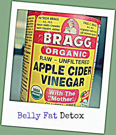 Belly Detox Apple Cider Vinegar by Belly Detox Using Apple Cider Vinegar