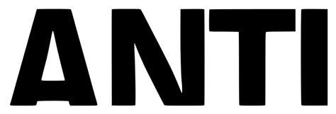 anti pics file anti rihanna logo svg wikimedia commons