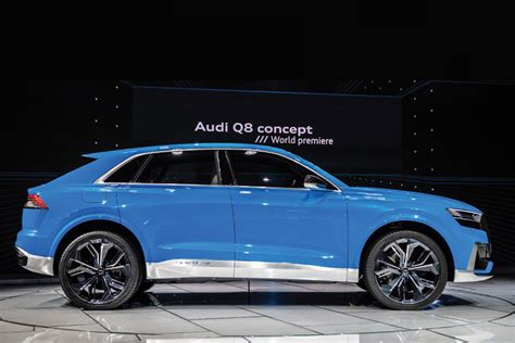 Q8 Audi by Audi Q8 Suv Concept Official Pictures Auto Express