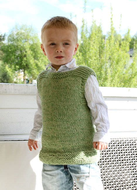 knitting pattern simple vest nice simple vest size 5 6 free the rest for sale