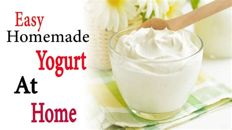 how to make yogurt at home easy yogurt