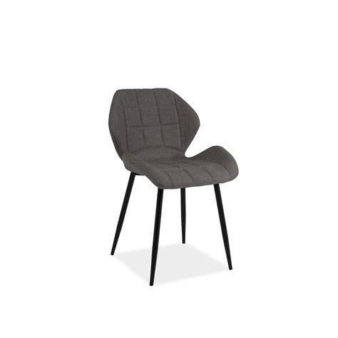 chaise metal noir chaise design hals en tissu gris et pieds en m 233 tal noir