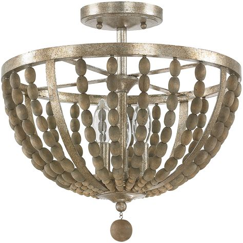 wood flush mount light capital lighting 4795tz lowell contemporary tuscan bronze