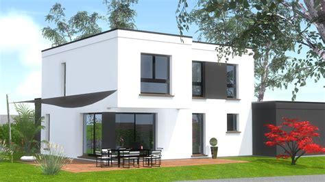 Toit Plat Maison by Constructions Maison 224 Toit Plat Maisons Begi