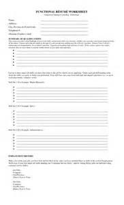 Resume Worksheet 17 Best Images Of Creating A Resume Worksheet Fill In Printable Resume Worksheet Printable