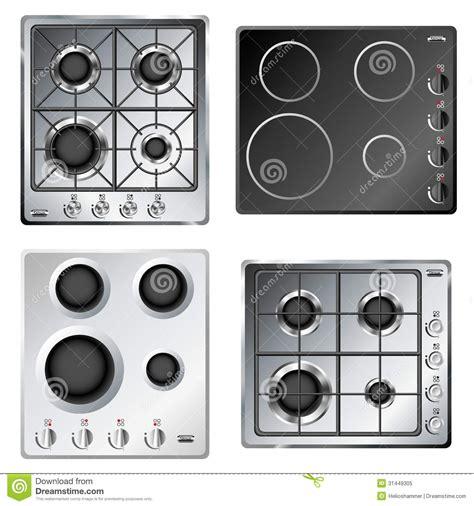 Stainless Steel Kitchen Island Ikea kitchen stove hob set stock image image of fire