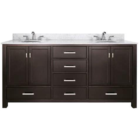 Bathroom Vanities Free Shipping avanity modero 72 quot bathroom vanity espresso