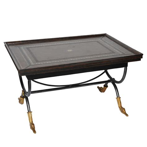 Coffee Table Leather Top X Jpg