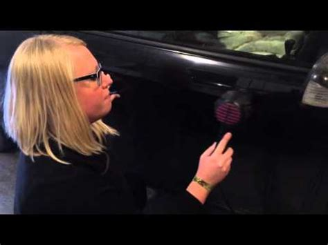 Hair Dryer Air Duster Dent pop out a dent in your car and repair it yourself