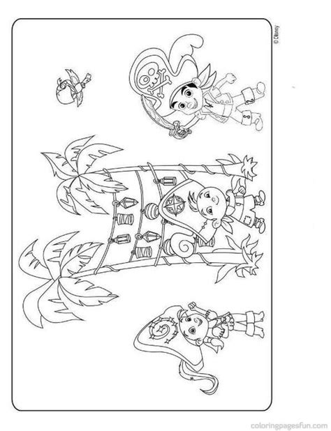 jake and the neverland pirate coloring pages az coloring