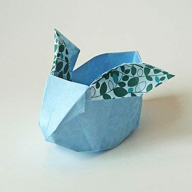 Origami Hase Faltanleitung by Diy Origami Osterhase Patrizia Kramer Design