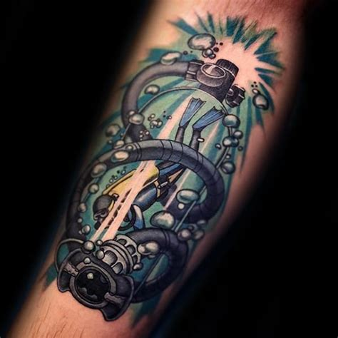 diving tattoos designs 40 scuba diving designs for diver ink ideas