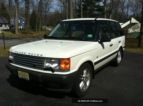 land rover 1999 1999 land rover range rover with