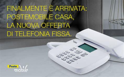 numero assistenza poste mobile postemobile casa 232 ora realt 224 arriva la telefonia fissa