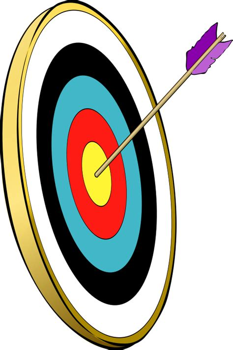 Print Target Target Panahan archery sports clipart pictures royalty free clipart pictures org