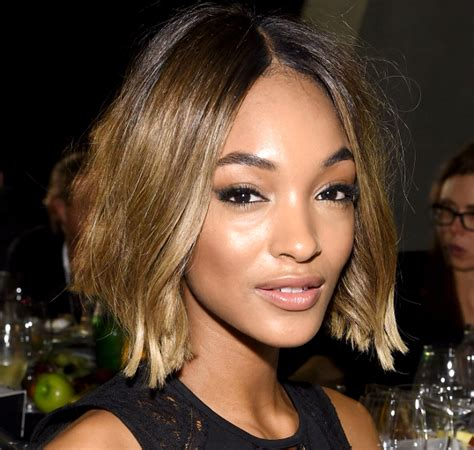 back of jordan dunn bob haircuts pictures 10 new celebrity bobs that look great on almost