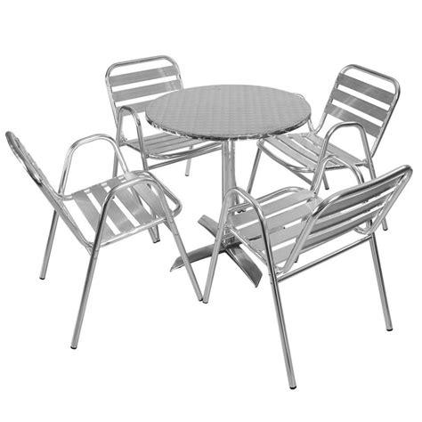table ronde et 4 chaises table et chaises pour restaurant et caf 233 mobeventpro mobilier chr