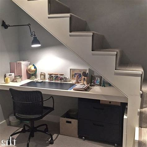 39 best images about desk under staircase on pinterest 16 creative under stairs remodelling ideas small house decor