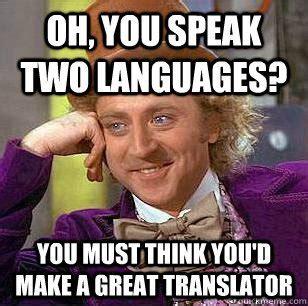 Meme Translation - language and translation memes
