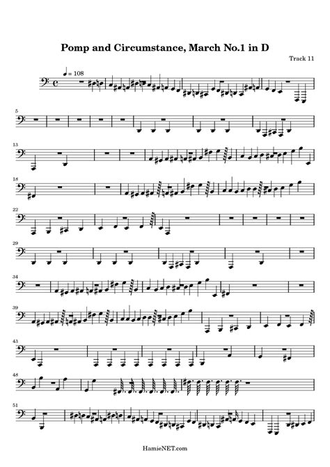 pomp circumstance and sheet music class of 2014 pomp and circumstance march no 1 in d sheet music pomp