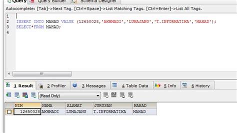 Membuat Database Sql Yog | membuat database menggunakan sqlyog sistem informasi