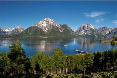 boat tour jackson lake lake cruises boat rentals grand teton lodge company