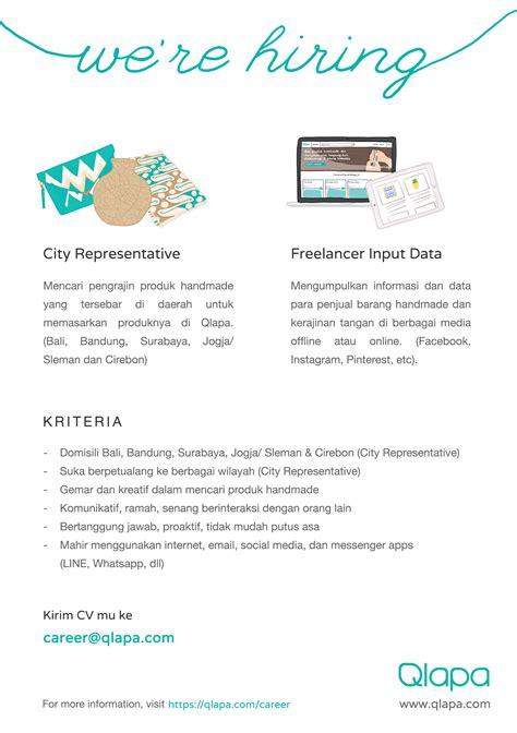 lowongan kerja design tracer lowongan kerja di qlapa com ppkk isi yogyakarta