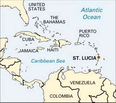lucia location on world map lucia location students britannica