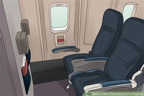 bulkhead seats in airplane 3 ways to get a seat on an airplane wikihow