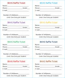 search results for free raffle ticket template for word