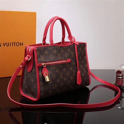replica lv louis vuitton monogram popincourt handbag