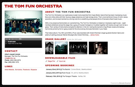 band epk template gallery of create a musician press kit or epk by media