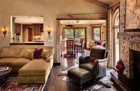 rustic chic living room rustic chic rustic living room milwaukee by