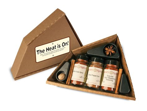 Spice Rack Gift Set The Heat Is On Spice Gift Sets Savory Spice