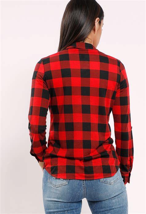 Pocket Plaid Shirt plaid flannel pocket shirt shop new and now at papaya