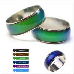 mood rings color magic lover emotion feeling mood ring color changeable