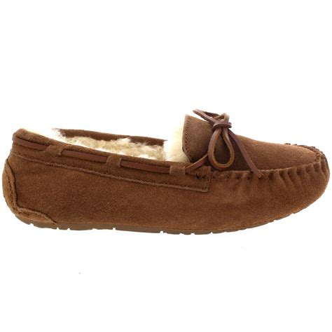 fu loafers womens moccasins real suede australian sheepskin fur