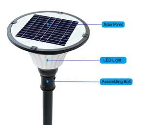 solar light systems outdoor solar lighting systems for parks and courtyard