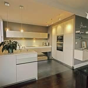 couleur murs cuisine avec meubles blancs home design