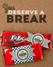 you deserve a break eighteen25
