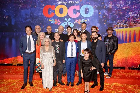 coco cast red carpet premiere and review of disney pixar s coco