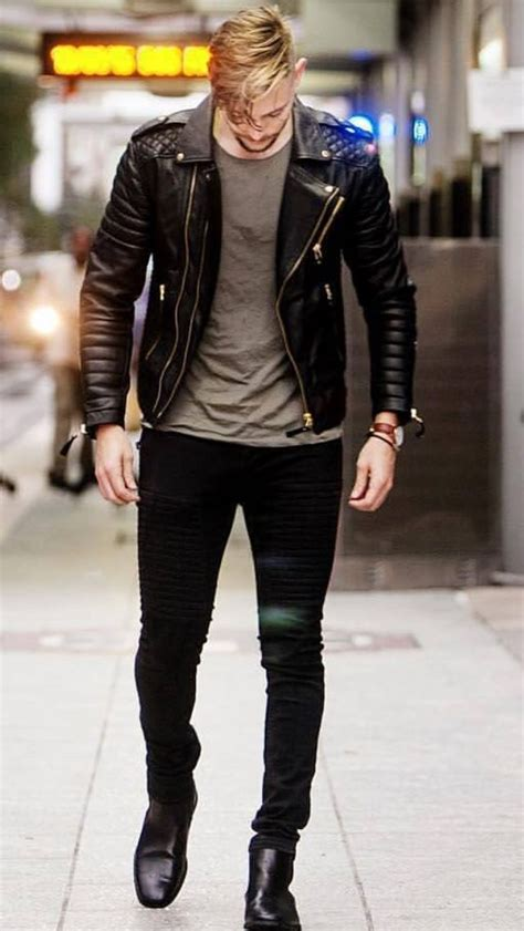 Leather Biker Jacket 52 best 25 mens leather biker jacket ideas on