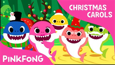 Baby Shark Christmas | christmas sharks christmas carols pinkfong songs for