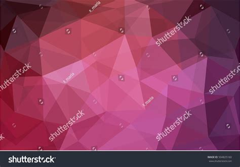pink red pattern light pink red pattern seamless triangular stock vector