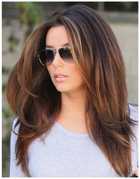hot new hair styles present long hairstyles trends for canadian ladies style
