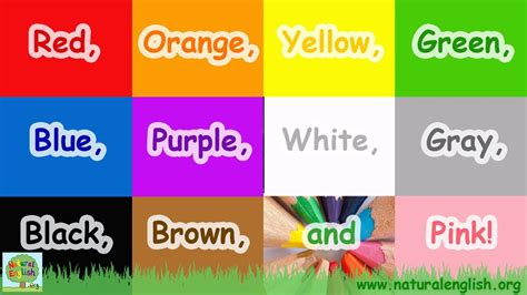 The Colors Song ~ Learn the Colors / Colours ~ Simple