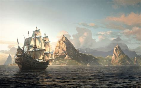 P C Black Pear Sho pirate ship wallpaper 82 images