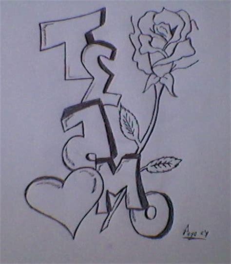imagenes de amor para dibujar te amo te amo por peyocy dibujando