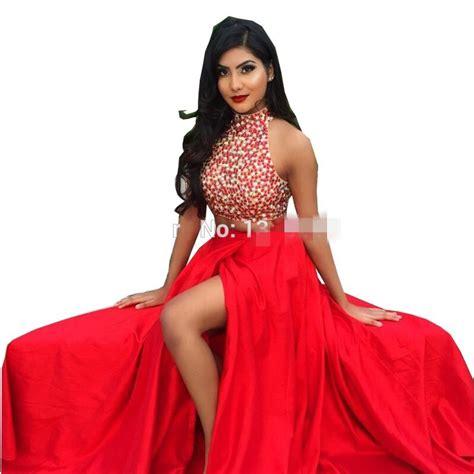 aliexpress comprar rojo de dos piezas de vestidos de