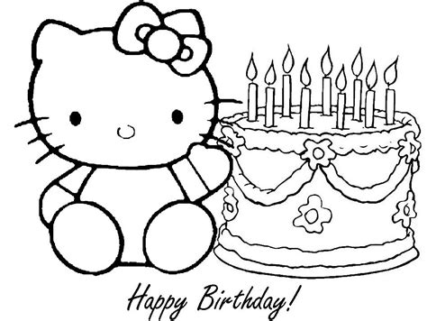 coloring pages online youtube hello kitty birthday coloring pages youtube